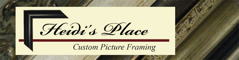 Heidis Place Custom Picture Framing